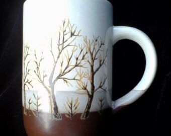 Otagiri Bare Trees Mug