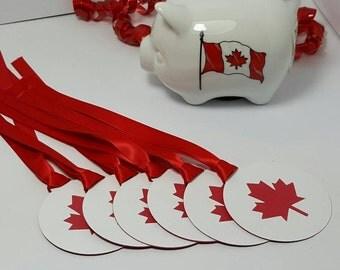 Canada tags - christmas gift tags - santa gift tags - christmas decorations - Canada gift tags - canada decor