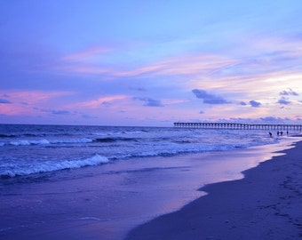 Sunset at Holden Beach, North Carolina