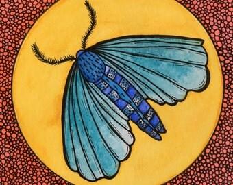 Spring Moth ORIGINAL