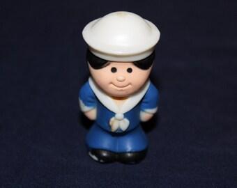 1970s  Kenner Tree Tots Little Peoples Sailor in Uniform