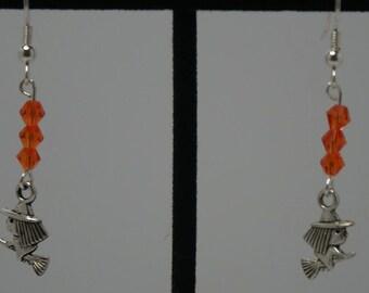Cute Little Witch Earrings