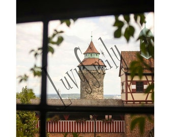 Window to the Tower Photograph