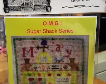 MAY The CONFECTIONARY Cross Stitch Chart OMG #25 Counted Confections Candy