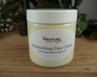 Moisturizing Face Cream - Helps Replenish Natural Oils