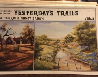 Sue Scheew Presents Yesterday's Trails - FREE SHIPPING