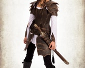 Damiane armor - Complete adventurer woman armor for LARP, action roleplaying and cosplay