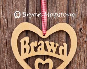 Brawd (Brother) Heart