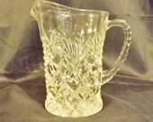 Pineapple Glass Milk Cream Pitcher Depression Glass by Anchor Hocking