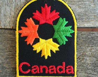 Canada Vintage Travel Patch by Voyager