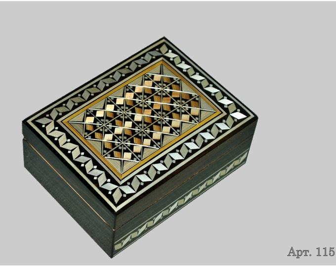 Jewelry box. Casket from Russia. Original gift. #С 1151-31. #4