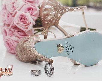 Wedding Shoe Decals / DIY Vinyl Stickers / DIY Vinyl Decals / I do shoe stickers / DIY vinyl / wedding shoe stickers / weddings