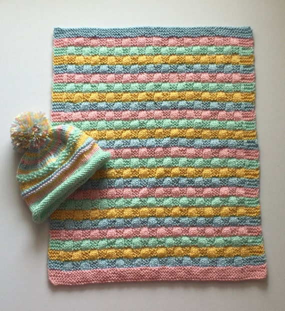 Knitting Patterns For Baby Car Seat Blankets : Knit baby car seat/carrier blanket