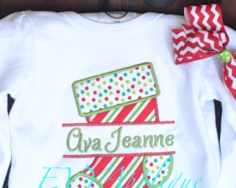 "Shop ""Personalized Christmas Stocking"" in Clothing"