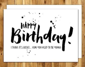 best friend birthday birthday card bff funny bff card, Birthday card