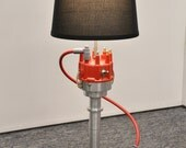 Custom distributor lamp - Man Cave - Chevy - Ford - Performance - Racing - hotrod - billet - air filter - men's gift