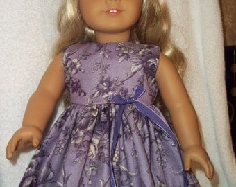 "Cute dress made to fit 18"" American girl dolls  Gotz  Madame Alexander"