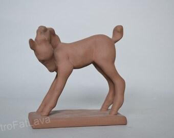 Karlsruhe Majolika ceramic  Foal  - Germany  - 5934