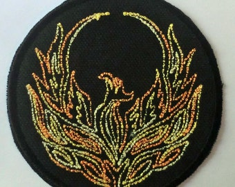 Iron-On Patch -PHOENIX