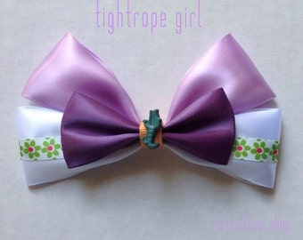 tightrope girl hair bow