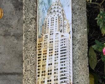 Chrysler Building - 4x15 in.