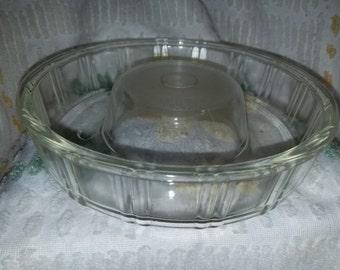 Vintage Glass Bundt Dish