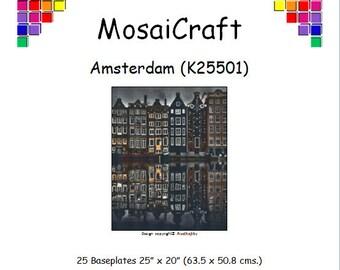 MosaiCraft Pixel Craft Mosaic Art Kit 'Amsterdam' (Like Mini Mosaic and Paint by Numbers)