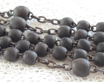 Antique Wooden Rosary