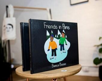Friends in Paris children's book - Interpretation of Kanye & Jay Z's 'N***as in Paris'