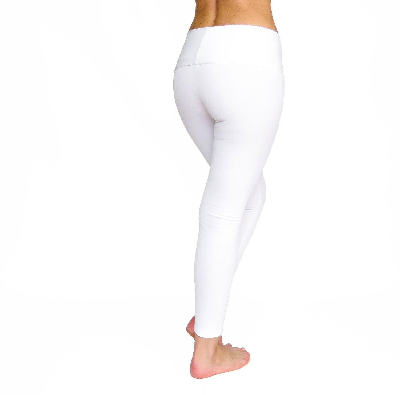 High Waist Yoga Pants White Leggings Crop White Yoga By