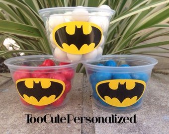 25 Batman Snack Cups-4 oz.