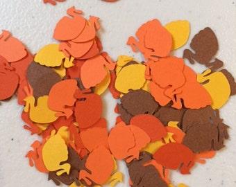 Turkey Shaped Paper Confetti