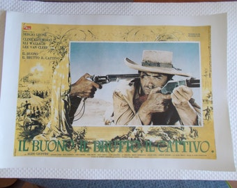 The Good, the Bad and the Ugly,  Film Poster Print