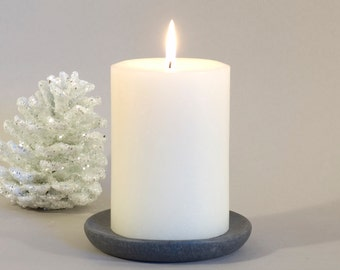 Ivory Pillar Candle 3x4""