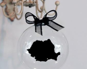 Romania Christmas Ornament, Custom, Adoption, Travel, Mission