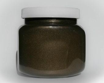Metallic Burnt Coffee Glaze - Martha Stewart Style
