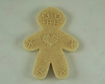 Handmade Oatmeal Soap Voodoo Doll Soap