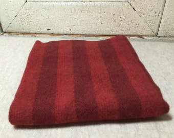 old glory red mill dyed wool fabric for rug hooking applique penny rugs