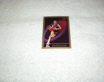 Vintage 1990 JON SUNDVOLD #153 Miami Heat Basketball CARD By Skybox - New, Rare & Collectible