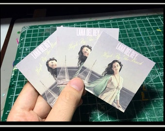 Lana Del Rey Stickers - High By The Beach - Set of 3