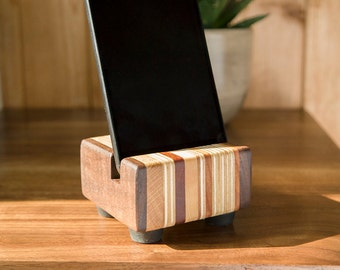 15% OFF Mixed Wood Dock for iPhone / Android / Samsung / HTC / Huawei / Sony / LG / Mobile Phone