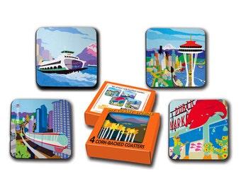Seattle Coaster Set