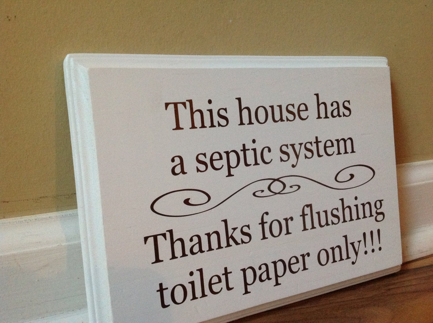 This house has a septic system Septic System Rules Wooden Sign Plaque Do Not Flush Sign Bathroom Decor Funny Bathroom Do Not Dispose. Septic system   Etsy