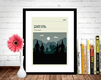 Harry Potter and the Goblet of Fire Movie Poster - Movie Poster, Movie Print, Film Poster, Harry Potter Poster