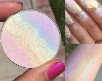OPALESCENT Rainbow Highlighter- Mineral Highlighter- All Natural, Vegan Friendly Cosmetics