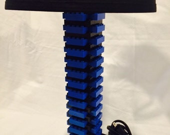 LEGO® Lamp -Black & Blue 2.0