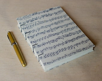 Music Notebook Sketchbook or Journal // Coptic