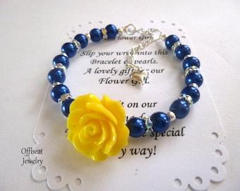 Celestial Bracelet, Flower Girl Bracelet, Flower Girl Gift, Celestial Wedding Bracelet, Little Girl Bracelet, Little Girl Jewelry, Girl Gift
