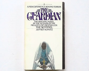 The Guardian by Jeffrey Konvitz 1979, Bantam Vintage Horror Fiction Paperback Book