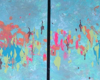 ORIGINAL Paintings Contemporary Fine Art  Modern Acrylics Abstract